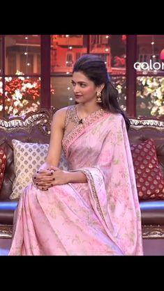Cheongsam, Hanfu, Indian Dresses, Indian Outfits, Deepika Padukone Saree, Deepika Ranveer, Saree Hairstyles, Indian Hairstyles, Satin Saree