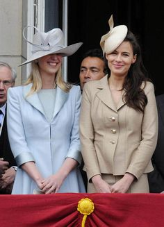 thebritishroyalfamily:  sisters-in-law Lady Gabriella Windsor and Sophie Winkleman, Lady Frederick Windsor