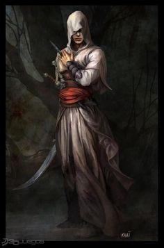 Boceto Assassin's Creed