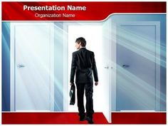 Check out our professionally designed front office desk ppt door to success powerpoint template is one of the best powerpoint templates by editabletemplates toneelgroepblik Image collections