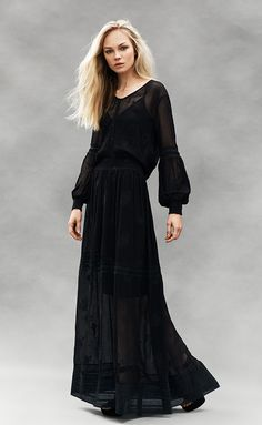 ES16 Early Spring, Goth, Dresses With Sleeves, Long Sleeve, Inspiration, Collection, Style, Fashion, Beginning Of Spring