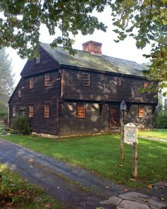 Indian House Memorial -- Deerfield, MA This home survived the 1704 massacre but was dismantled in 1848 after preservationists failed to raise funds to save it; it was finally rebuilt in 1929.