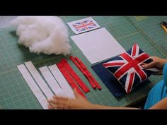 In this Week 3 video of Invade London I teach you how to make a mini Union Jack (British Flag) pillow.  Its not difficult to make but does take a bit of time because you are using strips of fabric to recreate a countrys flag. This is a mini pillow and the finished size is approximately 7.5 x 8.5.    Its not a difficult project to make but d...