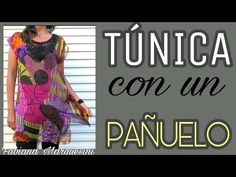 Como hacer una CAMISOLA con un PAÑUELO - Fabiana Marquesini - 21 - YouTube