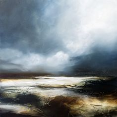 Paul Bennett Semi Abstract Seascape - Inspired by the wild and rugged coastlines of the world.