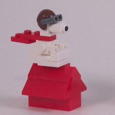 New Pictures of Snoopy and Red Baron | Bill Ward's Brickpile