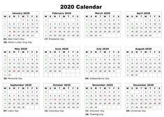 Blank Printable Calendar Pages 2020 Printable 12 Month Calendar One Page Free Editable Calendar 2020 Printable Templates Related Printable Yearly Calendar, Free Printable Calendar Templates, Printable Calendar 2020, 12 Month Calendar, Kids Calendar, 2021 Calendar, Monthly Calendars, Wall Calendars, Printables