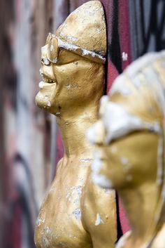 ModernMan - A work of art along the street of Milan
