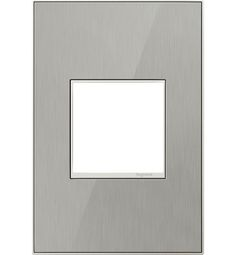 Pass & Seymour® Decorative Screwless Wall Plate, with Plastic ...