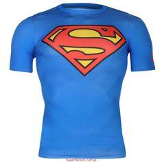 Koszulka sportowa Superman Under Armour Alter Ego