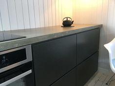 #studio10 #ikea #ikeafronter #valchromat #betongbenk #kjøkken #kitchen