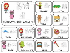 Teckenkartor – Fröken Ljusta Sign Language Book, Learn Swedish, Swedish Language, School Signs, Learn Chinese, Preschool, Activities, Writing, Tack