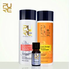 Cheap argan oil, Buy Quality argan oil products directly from China keratin treatment Suppliers: Gold therapy keratin treatment 2017 new advanced formula best Hair Care and Styling products repair damaged hair gift argan oil Argan Oil Hair, Hair Oil, Brazilian Keratin Hair Treatment, Purifying Shampoo, Keratin Shampoo, Damaged Hair Repair, Hair Care, Pure Products, Styling Products