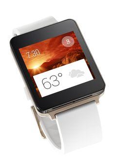 LG revela seu relógio inteligente com Android Wear