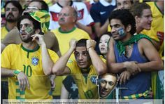 Pin for Later: People Who Are Sadder About the Brazil vs. Germany Game Than You Are These Young Men World Cup 2014, Fifa World Cup, Brazil Vs Germany, Young Man, Cool Photos, Crushes, Champion, How To Memorize Things, Celebrities