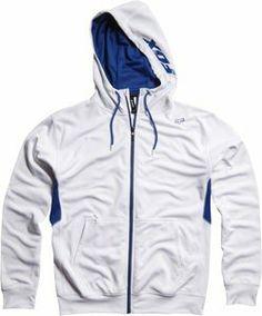 Clear Fast Racing white zip up hoodie that's furious! $38.50 http://www.hotzipuphoodies.com/fox-racing-white-zip-hoodie/ #white zip up hoodie #fox racing zip up hoodie