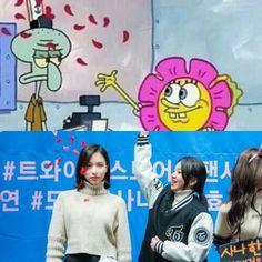 Memes Funny Faces, Funny Kpop Memes, Bts Memes, Kpop Girl Groups, Kpop Girls, Seokjin, Twice Tzuyu, Twice Fanart, Little Memes