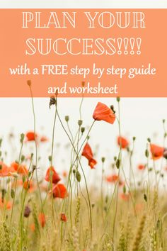 Success - Start - Here - Guide - Worksheet - Free -