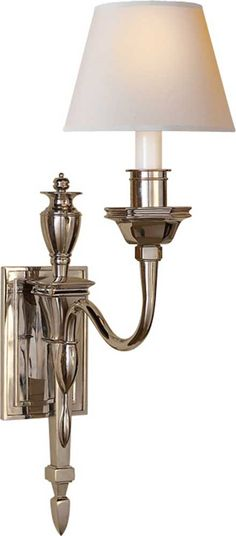 "CIRCA LIGHTING | Winslow Single Sconce - MS2015 | 27""h x 8""w x 14.5""d 