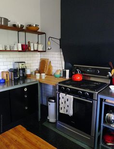 If you have that one dead corner spot in your small kitchen, you may want to see how to fix it. | Tiny Homes