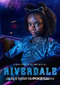Riverdale Ashleigh Murray Poster (32)