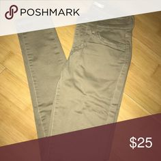 Levi's Khaki Skinny Jeans Going for a more classy or sophisticated look? Skinny khakis are what you are looking for! Levi's Jeans Skinny