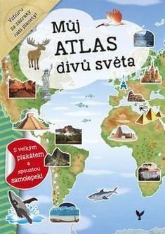 Můj atlas divů světa + plakát a samolepky