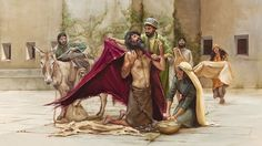 Study: God's forgiveness is especially evident in the lives of King David and King Manasseh. Read this commentary on Psalm forgiveness, sin, and repentance. Bible Art, Bible Scriptures, Psalm 47, Isaiah 43, Biblical Costumes, Arte Judaica, Slow To Anger, Bible Illustrations, King David
