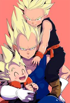 Vegeta ,goten ,trunks. The look on goten a face!!!☺️ - Visit now for 3D Dragon Ball Z shirts now on s