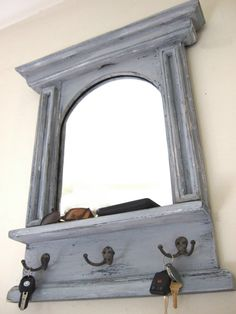 16 awesome mirror with hooks images coat stands diy ideas for rh pinterest com