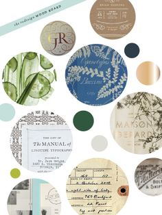 Pinegate Road Designs and Blog by Kelsey Cronkhite, via Behance