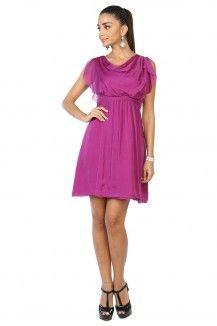 Designer Purple Dress  Rs. 2,345