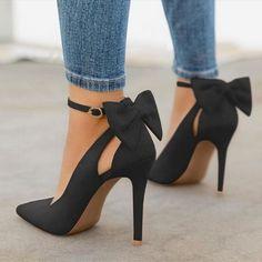 moda Stiletto Heels, Pumps Heels, Womens High Heels, Bows, Clothes For Women, Sneakers, Stuff To Buy, Insta Makeup, Tumblr Boys