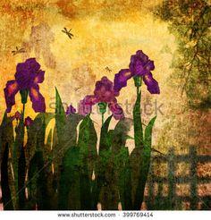 Стоковые фотографии и изображения Живопись сад   Shutterstock