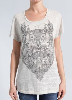 Brooklyn Industries Nomad Owl W - Graphic T-Shirt
