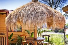 The Umbrella Thatch is a more cost effective version of the balinese hut. Made from alang-alang grass, they are easy to clean and maintain, last for years, get up to 15 degrees cooler in summer months and are a perfect natural insulator during the cooler months. Turn your backyard into a tropical retreat with an umbrella thatch.