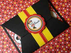 Inspired Minnie Mouse Birthday Invitations. $30.00, via Etsy.