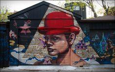 Street Art in Toronto, Canada