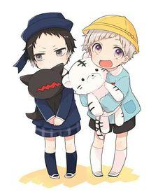 Kawaii Chibi, Cute Chibi, Kawaii Anime, Dazai Bungou Stray Dogs, Stray Dogs Anime, Bungou Stray Dogs Atsushi, Bungou Stray Dogs Characters, Anime Child, Dibujos Cute