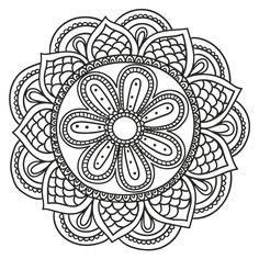 Resultado de imagem para mandalas da prosperidade para colorir