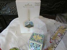 Hallmark Keepsake Magic Ornament 2007 Musical Baby's First Christmas New In Box #hallmarkkeepsake