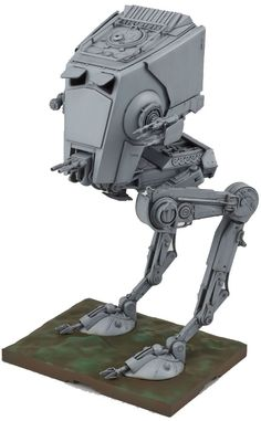 Amazon.com: Bandai AT-ST 1/48 Scale Star Wars All Terrain Scout Transport Walker: Toys & Games