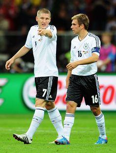 Bastian Schweinsteiger, Philipp Lahm