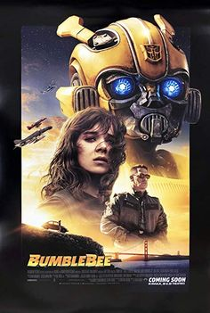 BUMBLEBEE MOVIE POSTER FILM A4 A3 ART PRINT CINEMA