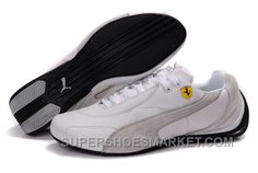 http://www.supershoesmarket.com/mens-puma-pace-cat-691-white-gray-g2jyq.html MENS PUMA PACE CAT 691 WHITE GRAY G2JYQ Only $74.00 , Free Shipping!