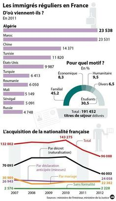 immigrés réguliers en France