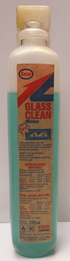 Esso glass clean