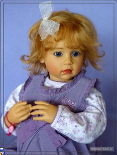 Kristine -collectible doll S.B.Skille