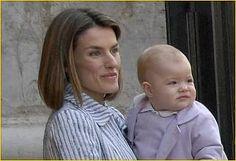Doña Letizia y su hijo Sofía
