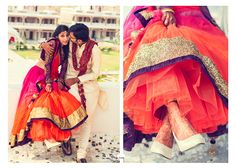 A Destination wedding in Pushkar with splashes of color !